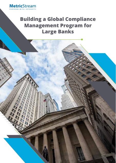 image from Building a Global Compliance Management Program For Large Banks