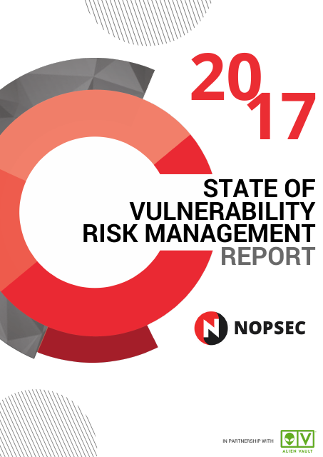 image from 2017 State Of Vulnerability Risk Management Report