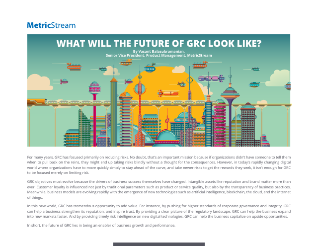 image from What Will The Future of GRC Look Like?