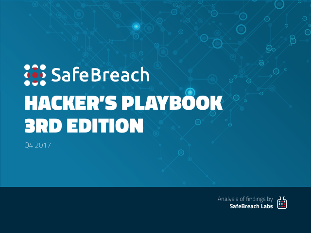 image from Hacker's Playbook 3rd Edition: Q4 2017