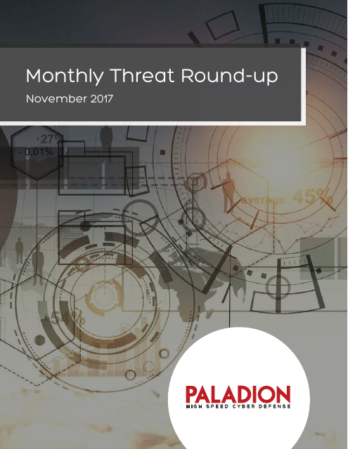 image from Monthly Threat Round-up: November 2017