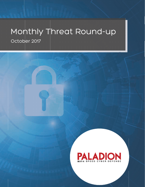 image from Monthly Threat Round-up:October 2017