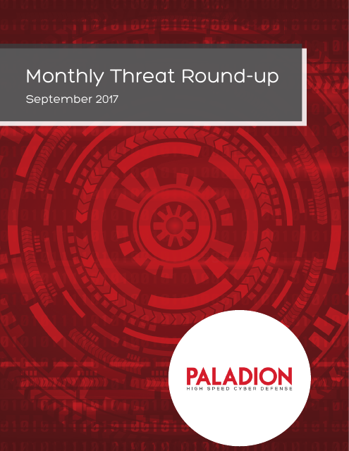 image from Monthly Threat Round-up: September 2017