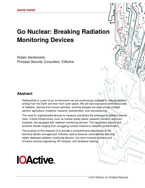 image from Go Nuclear: Breaking Radiation Monitoring Devices