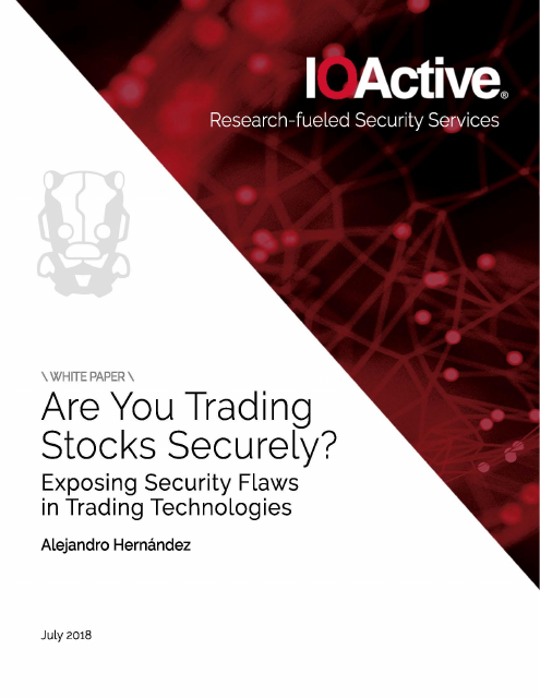 image from Are You Trading Stocks Securely?