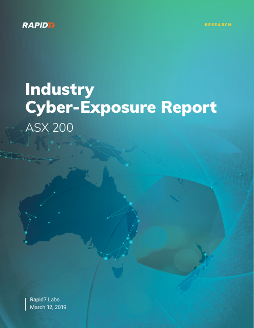 image from Industry Cyber-Exposure Report: ASX 200