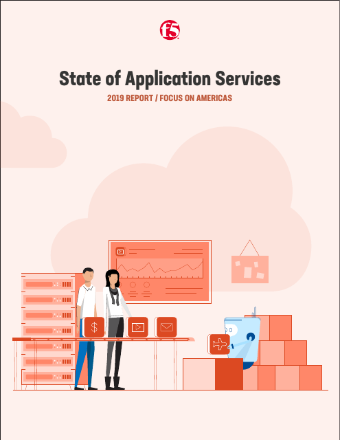 image from State of Application Services 2019 Report/ Focus On Americas