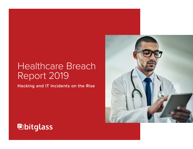 image from Healthcare Breach Report 2019