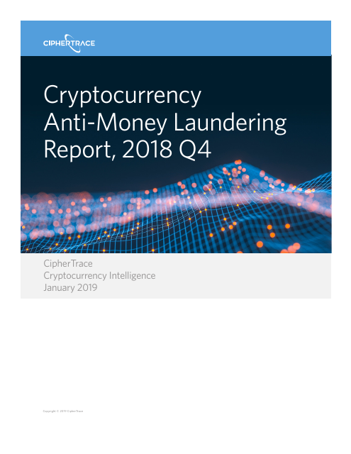 image from Cryptocurrency Anti-Money Laundering Report 2018 Q4