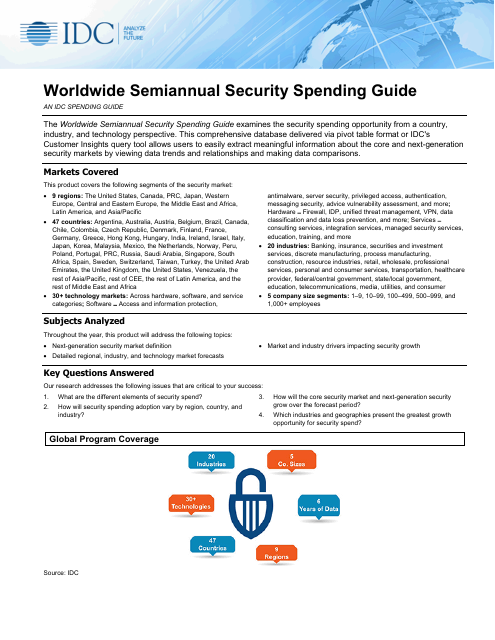 image from Worldwide Semiannual Security Spending Guide