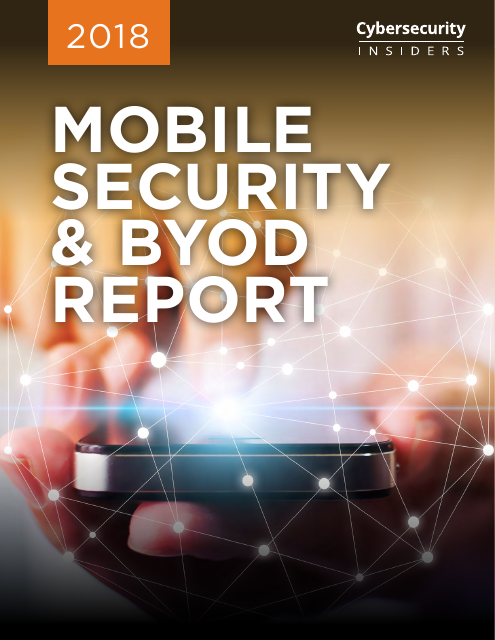 image from Mobile Security & BYOD Report