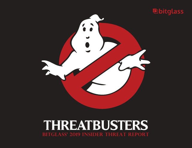 image from Threatbusters: BitGlass' 2019 Insider Threat Report