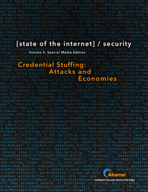 image from State of the Internet: Credential Stuffing - Attacks and Economies