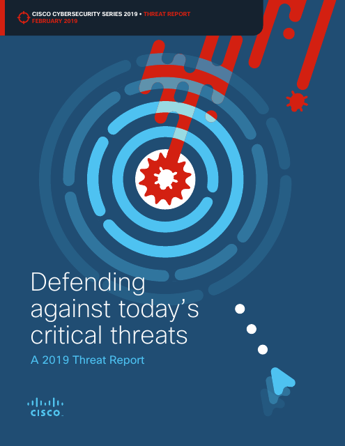 image from Defending Against Today's Critical Threats: A 2019 Threat Report