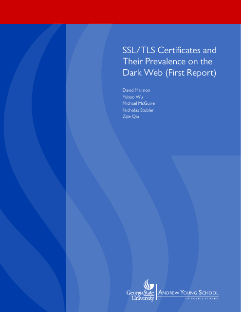 image from SSL/TLS Certificates and Their Prevalence on the Dark Web (First Report)