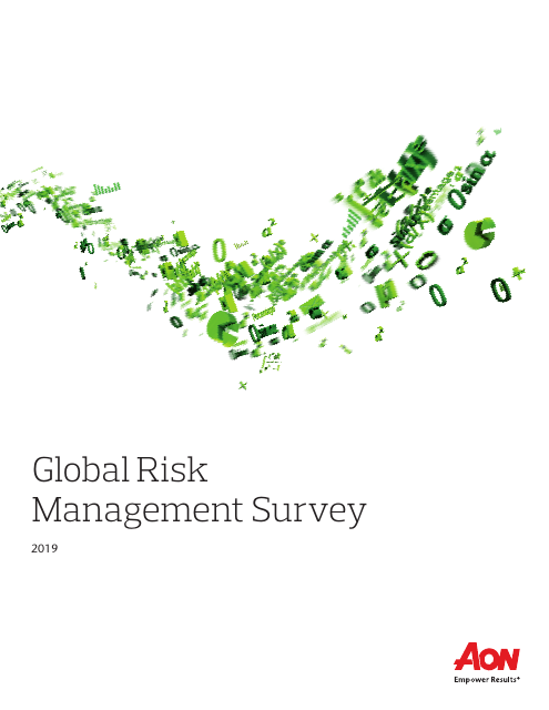 image from Global Risk Management Survey - 2019