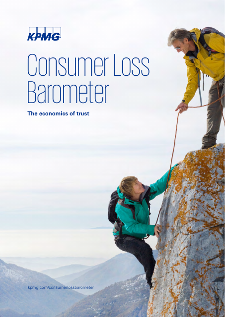 image from Consumer Loss Barometer - The Economics of Trust