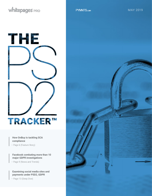 image from The PSD2 Tracker: May 2019