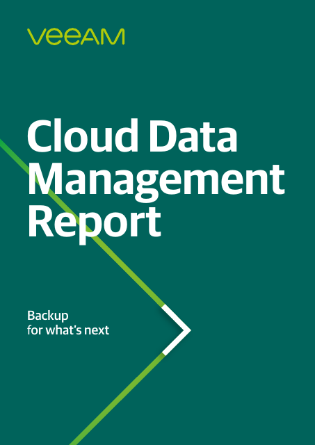image from Cloud Data Management Report
