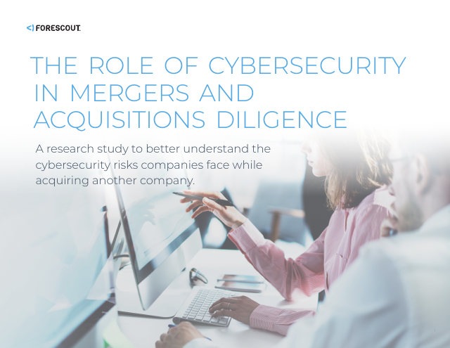 image from The Role of Cybersecurity In Mergers and Acquisitions Diligence