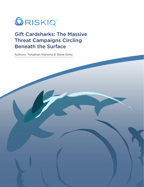 image from Gift Cardsharks: The Massive Threat Campaigns Circling Beneath the Surface