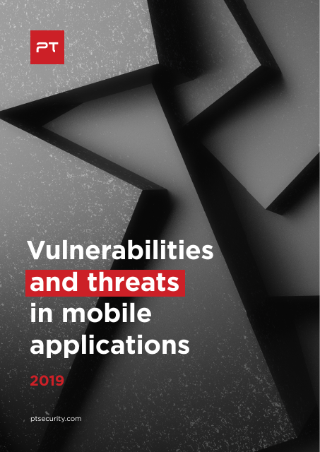 image from Vulnerabilities and Threats in Mobile Applications