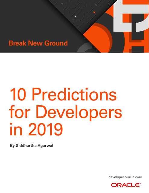 image from 10 Predictions for Developers in 2019