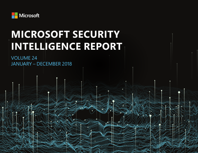 image from Microsoft Security Intelligence Report: Volume 24