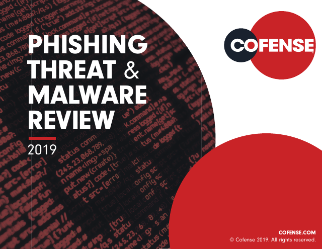image from Phishing Threat & Malware Review 2019