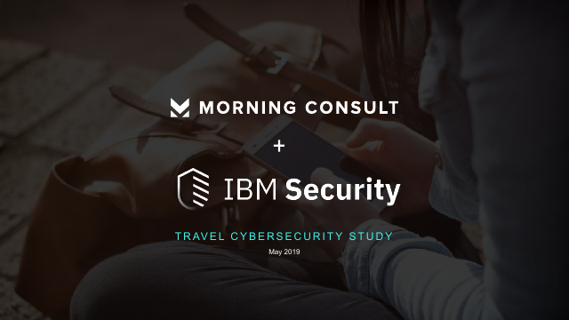 image from Travel Cybersecurity Study: May 2019