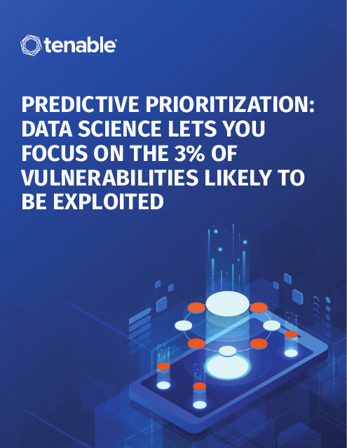 image from Predictive Prioritization: Data Science Lets You Focus On the 3% Of Vulnerabilities Likely To Be Exploited