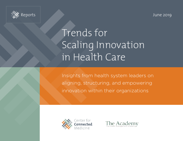image from Trends for Scaling Innovation in Health Care