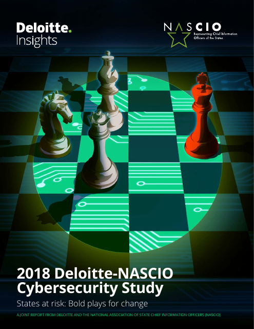 image from 2018 Deloitte-NASCIO Cybersecurity Study