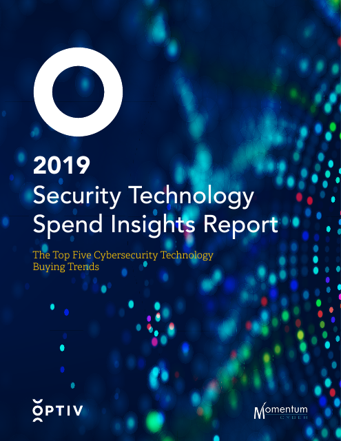 image from 2019 Security Technology Spend Insights Report