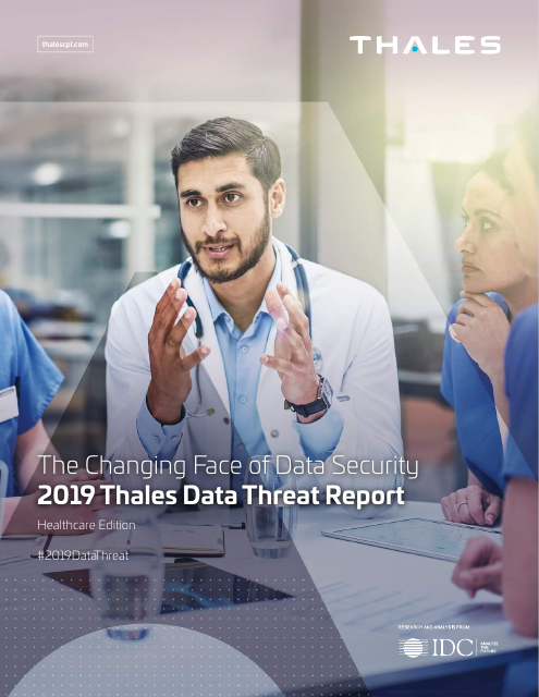 image from The Changing Face of Data Security- 2019 Thales Data Threat Report