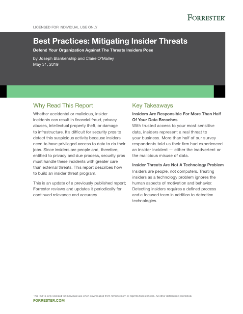 image from Best Practices: Mitigating Insider Threats