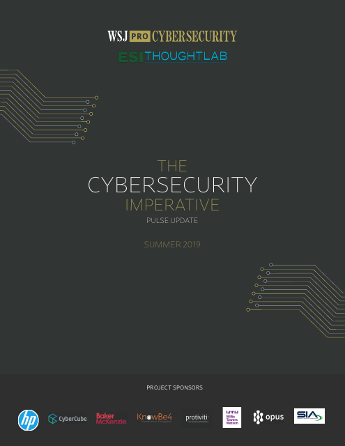 image from The Cybersecurity Imperative: Pulse Update - Summer 2019