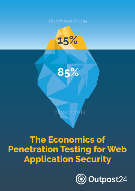 image from The Economics of Penetration Testing for Web Application Security