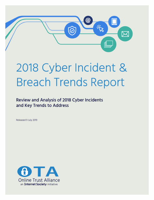 image from 2018 Cyber Incident & Breach Trends Report