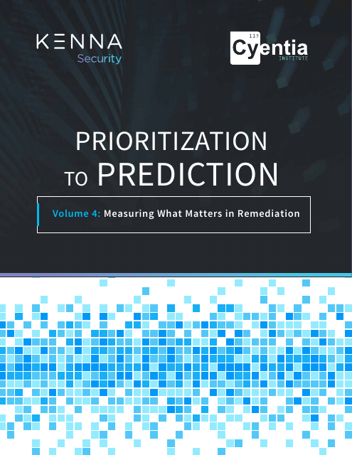 image from Prioritization To Prediction Volume 4: Measuring What Matters in Remediation