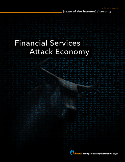 image from State of the Internet: Financial Services Attack Economy