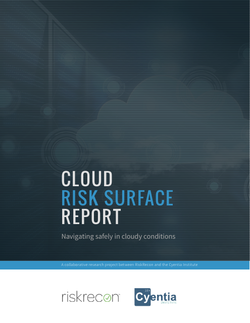image from Cloud Risk Surface Report