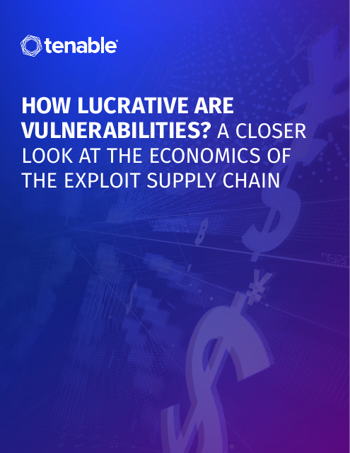 image from How Lucrative are Vulnerabilities? A Closer Look at the Economics of the Exploit Supply Chain