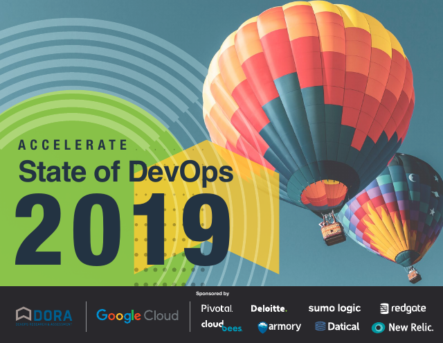 image from State of DevOps 2019