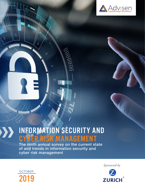image from Information Security and Cyber Risk Management Report 2019