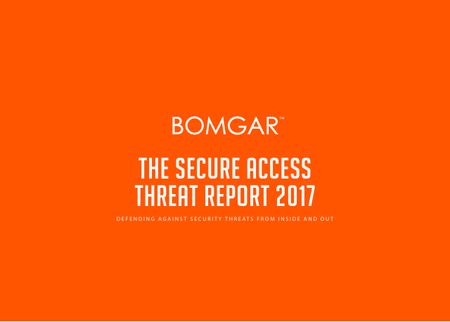 image from The Secure Access Threat Report 2017