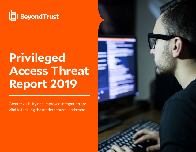 image from Privileged Access Threat Report 2019