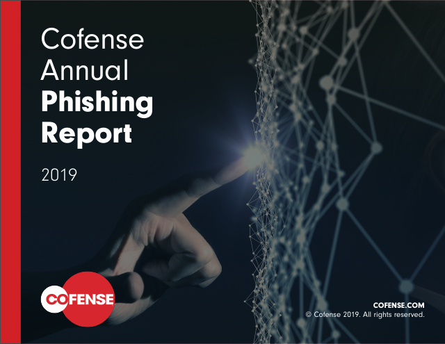 image from Cofense Annual Phishing Report 2019