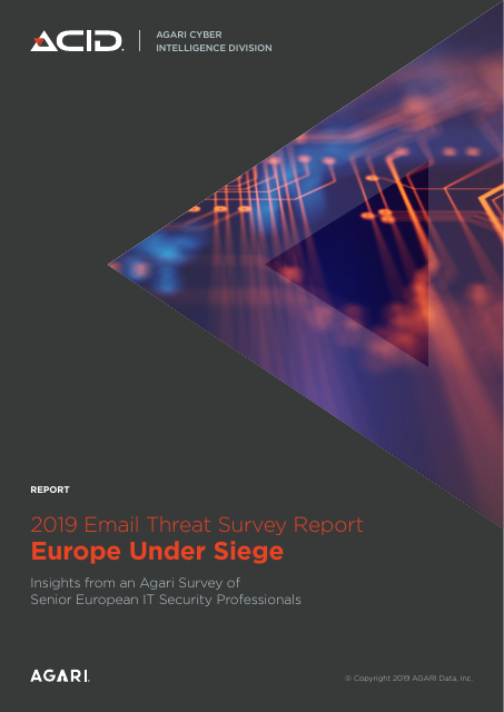 image from 2019 Email Threat Survey Report Europe Under Siege