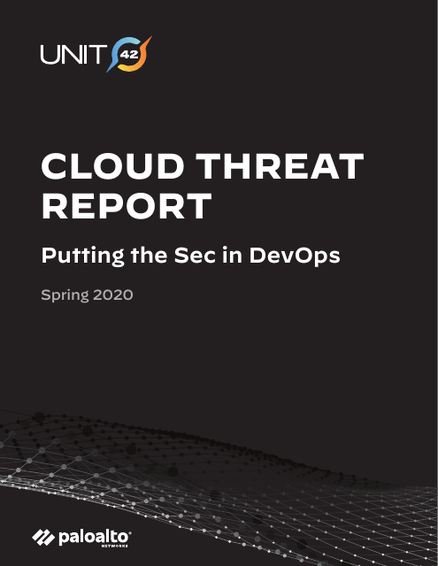 image from Cloud Threat Report: Putting the Sec in DevOps